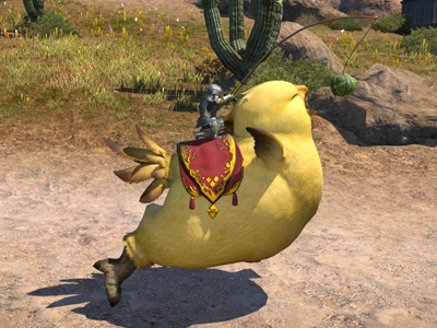 how to call chocobo pc