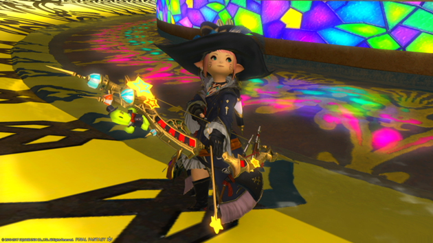 Gold Saucer weapons