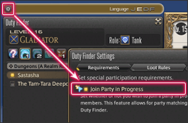 Ffxiv duty roulette party