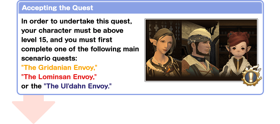 Accepting the Quest