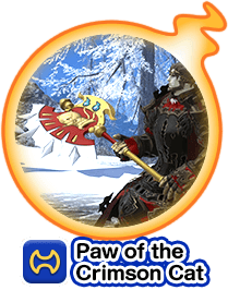 Paw of the Crimson Cat