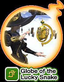 Globe of the Lucky Snake