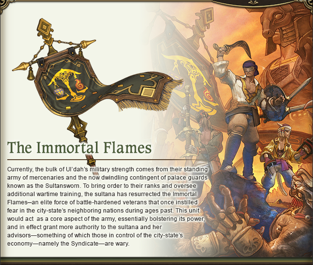 The Immortal Flames