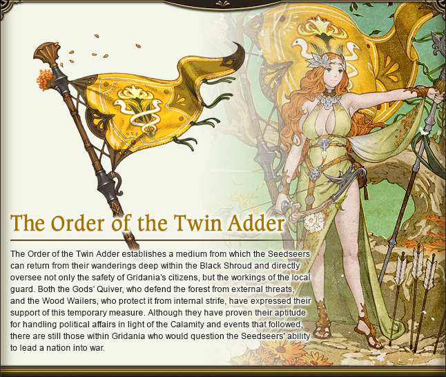 The Order of the Twin Adder