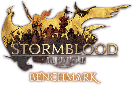 FINAL FANTASY XIV: Stormblood-Benchmark