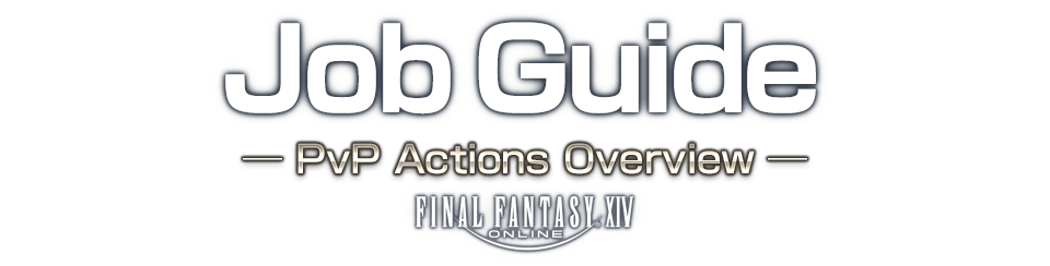 Job Guide PvP Actions Overview