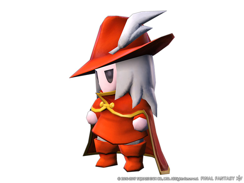 Wind-up Red Mage Minion