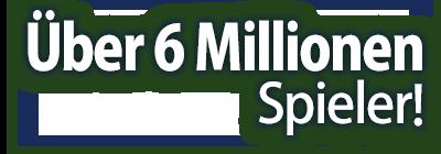 Über 6 Millionen Spieler!