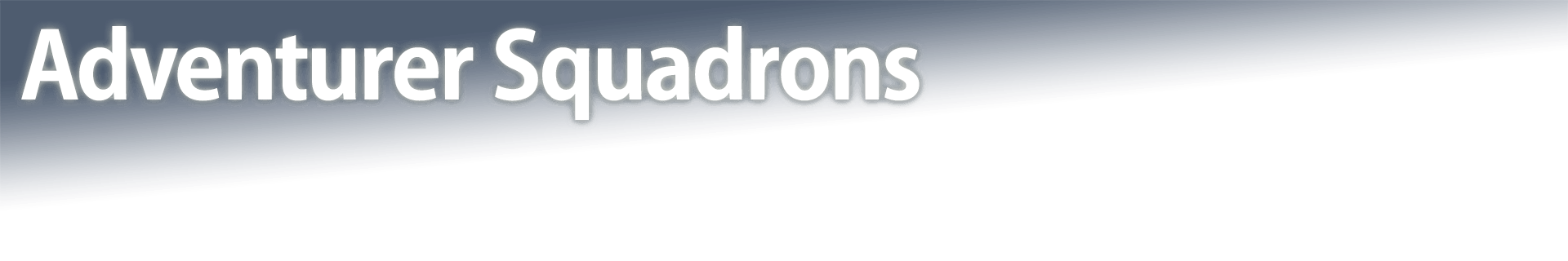 Adventurer Squadrons