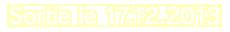 Sortie le 17.12.2013