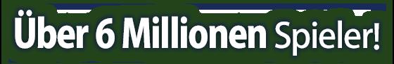 Über 5 Millionen Spieler!