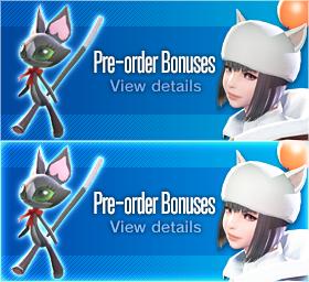 Pre-order Bonuses
