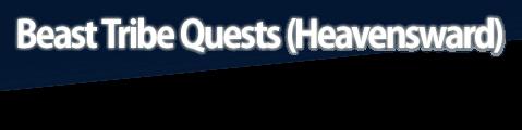 Beast Tribe Quests (Heavensward)