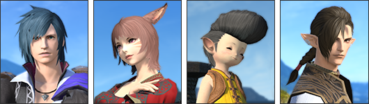 The Aesthetician - Hairstyle design contest ffxiv