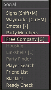 How to apply to the free company - Massively Multiplayer Online Role