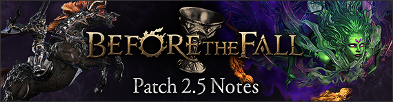 Before The Fall Patch 2.5