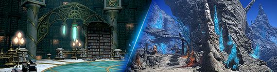 Entdeckt Heavensward - Neue Dungeons