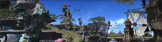 Entdeckt Heavensward - Neue Gegenden und fliegende Reittiere