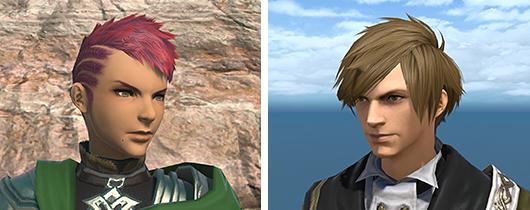 新たな髪型が追加されます。