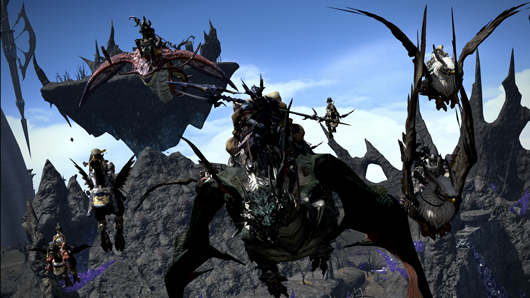 Behemoth Wall Mount Exploring Heavensward New Areas And