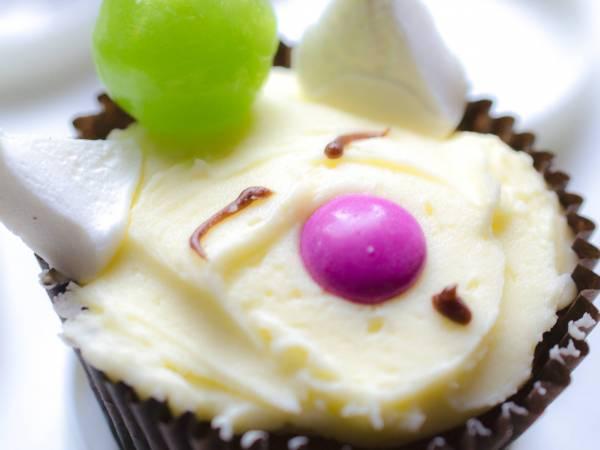 Moogle Cupcake!