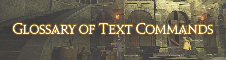 Text Commands