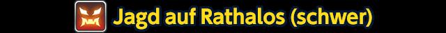 Jagd auf Rathalos (schwer)