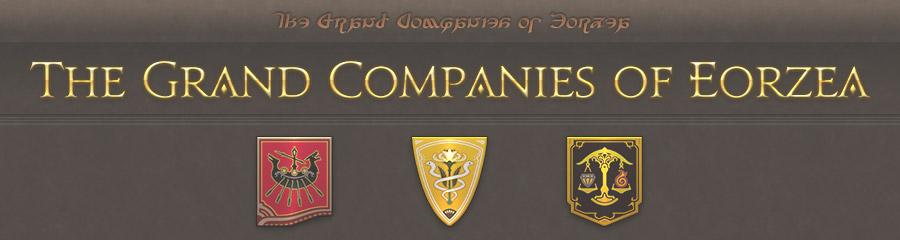 Grand Companies of Eorzea