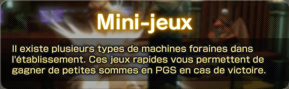 Mini-jeux