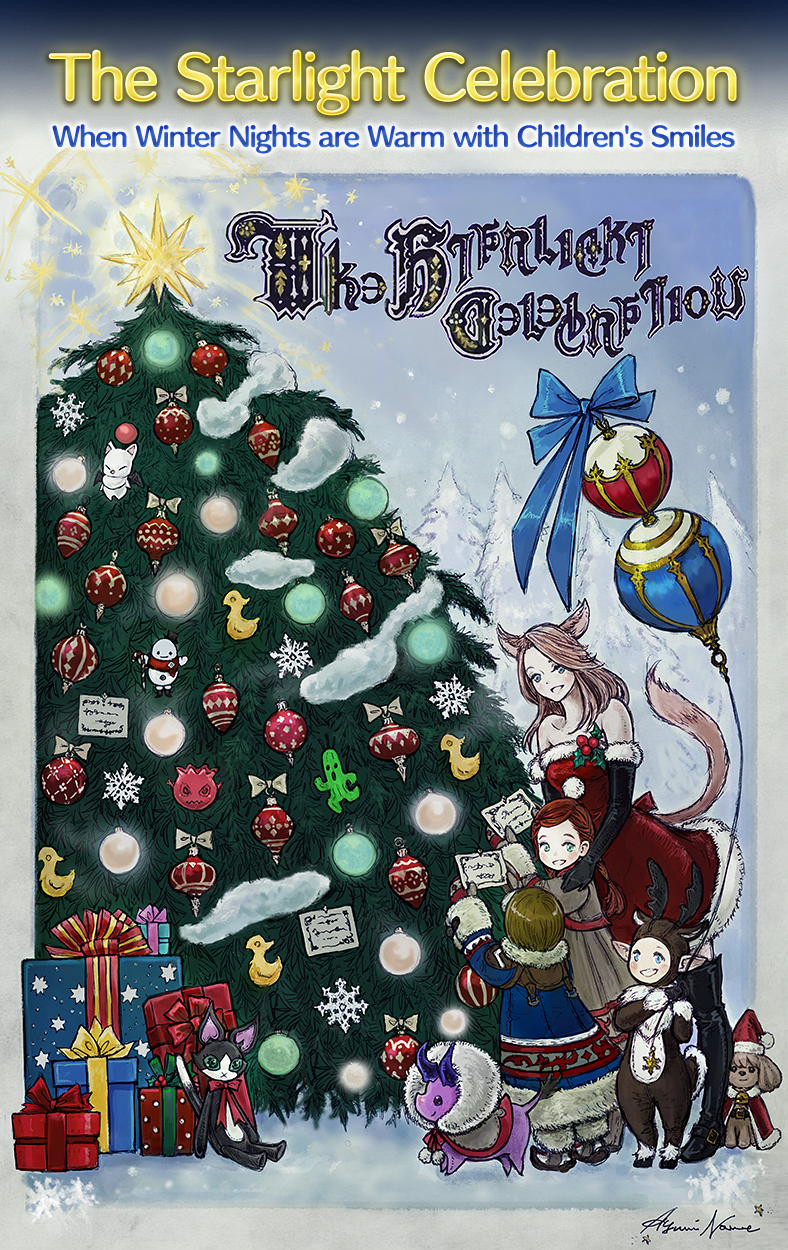 Ffxiv Christmas 2019 The Starlight Celebration | FINAL FANTASY XIV, The Lodestone
