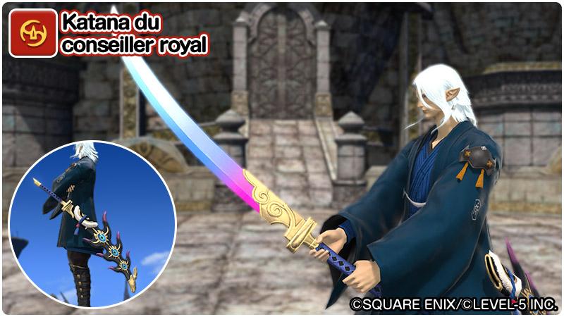Katana du conseiller royal