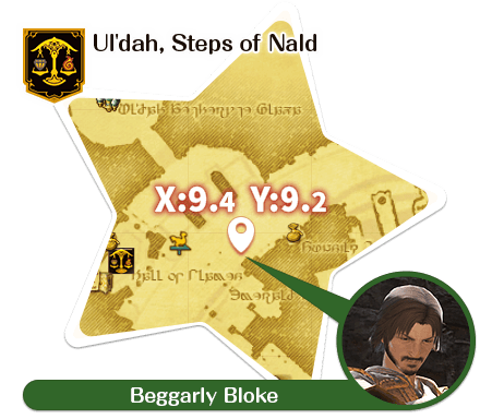 Ul'dah - Steps of Nald Beggarly Bloke