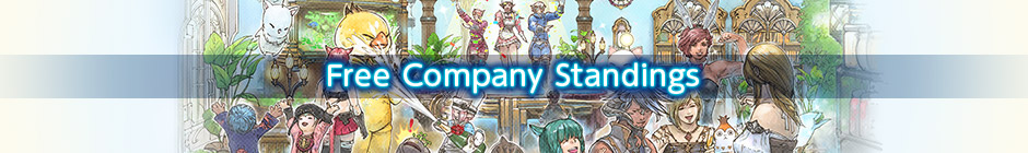 Free Company Standings | FINAL FANTASY XIV, The Lodestone