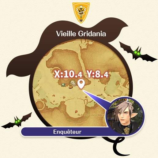 Vieille Gridania Enquêteur