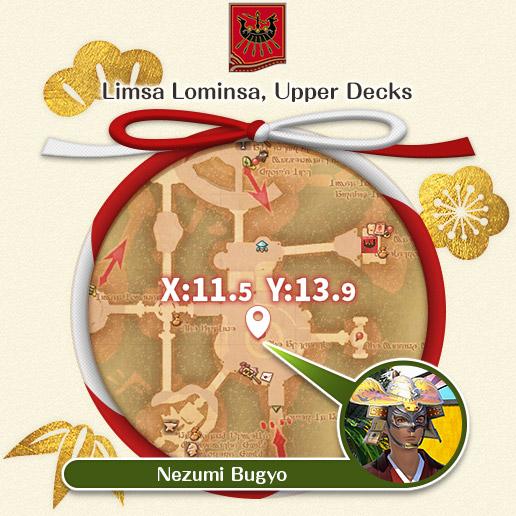 Limsa Lominsa, Upper Decks Nezumi Bugyo
