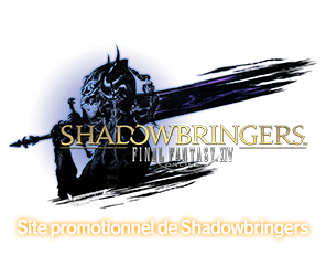 Site promotionnel de Shadowbringers