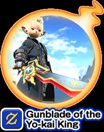 Gunblade of the Yo-kai King