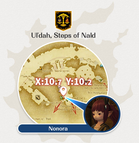 Ul'dah - Steps of Nald Nonora