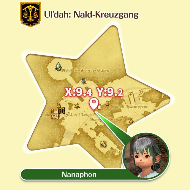 Ul'dah: Nald-Kreuzgang Nanaphon