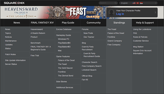 The Lodestone Update Notes | FINAL FANTASY XIV, The Lodestone