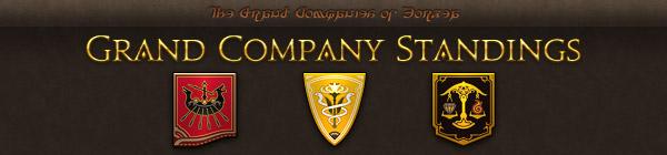 Grand Company Standings