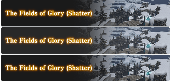 The Fields of Glory (Shatter)