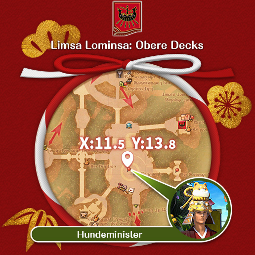 Limsa Lominsa: Obere Decks Hundeminister