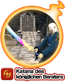 Katana des königlichen Beraters