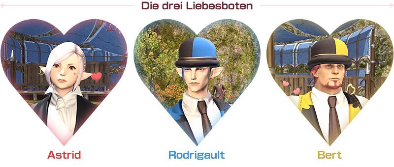 Die drei Liebesboten