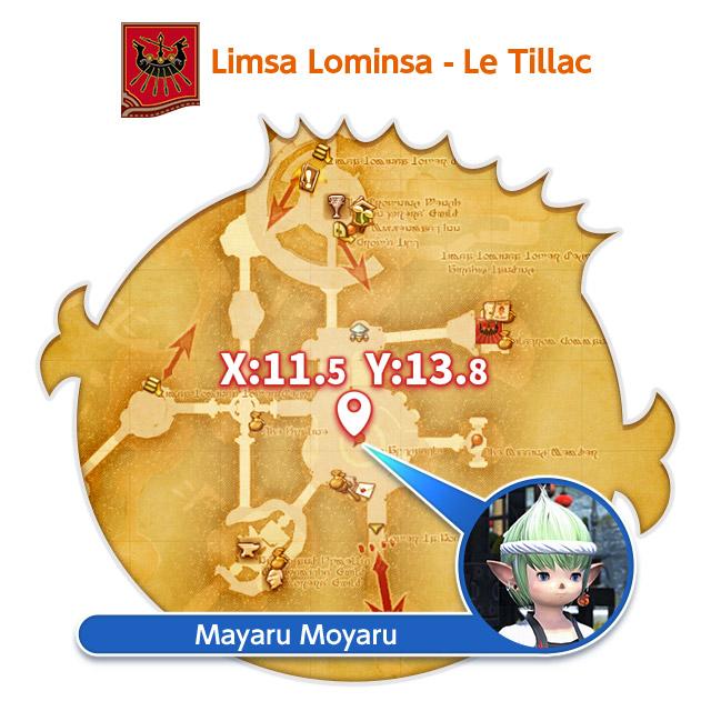 Limsa Lominsa - Le Tillac 11.5, 13.8 Mayaru Moyaru
