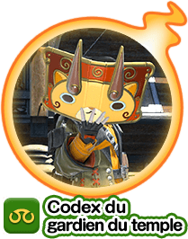 Codex du gardien du temple