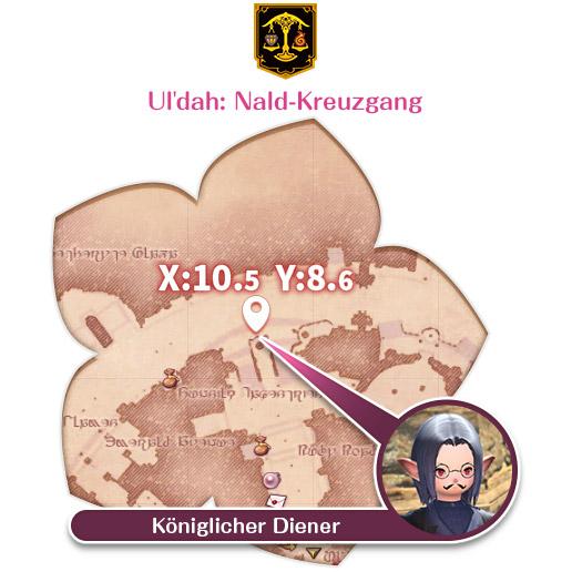 Ul'dah: Nald-Kreuzgang Königlicher Diener