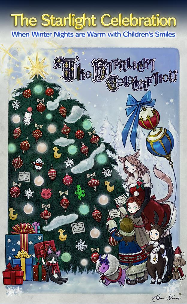 Ffxiv Christmas Festival 2020 The Starlight Celebration | FINAL FANTASY XIV, The Lodestone