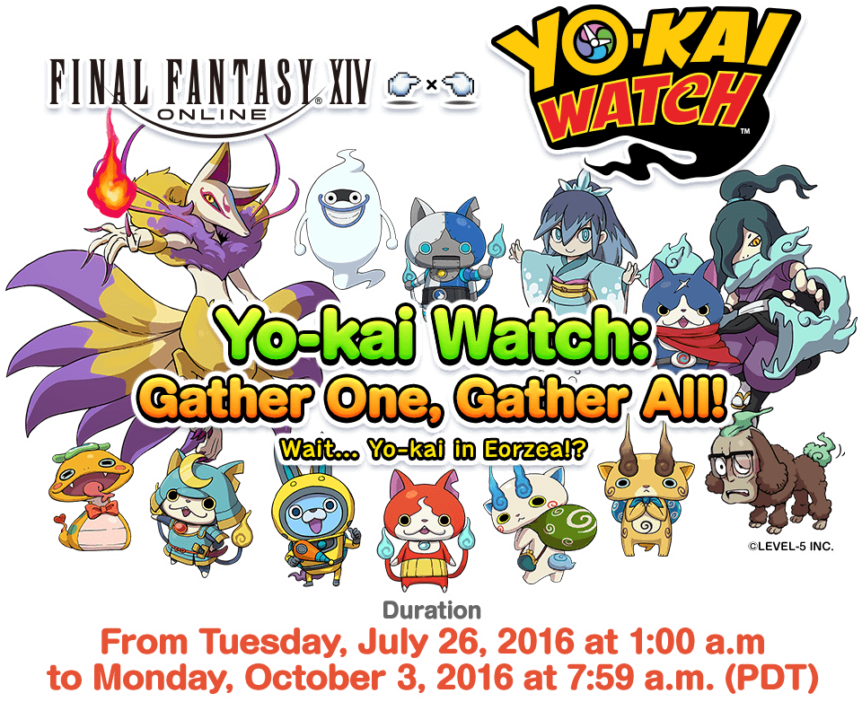 Yo-kai Watch: Gather One, Gather All! | FINAL FANTASY XIV